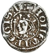 1 Farthing - David II (1st Coinage, 1st Issue) – obverse