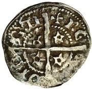 1 Farthing - David II (1st Coinage, 1st Issue) – reverse