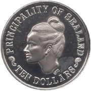10 Dollars - Roy I (Princess Joan I) – obverse