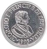 5 Centesimi - Giorgio I – obverse