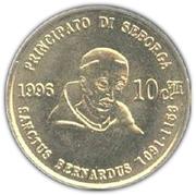 10 Centesimi - Giorgio I – reverse