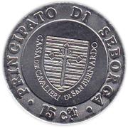 15 Centesimi - Giorgio I – reverse