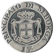 1 Luigino - Giorgio I – reverse