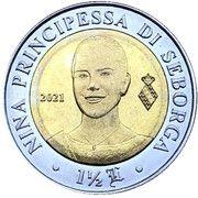 1½ Luigini - Nina – reverse