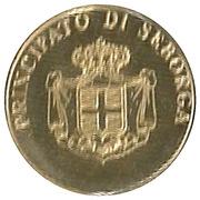 2½ Luigini - Marcello I (St. Bernard Church) – obverse