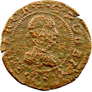 Double Tournois - Guillaume-Robert (1st type) – obverse