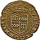 Double Tournois - Guillaume-Robert (1st type) – reverse