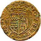 Double Tournois - Guillaume-Robert (2nd type) – reverse