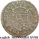 Double Tournois - Henri (4th type) – reverse