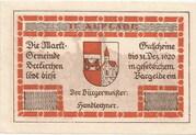 80 Heller (Seekirchen) – obverse
