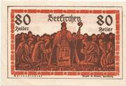 80 Heller (Seekirchen) – reverse