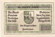 60 Heller (Seekirchen) – obverse