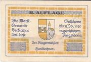 30 Heller (Seekirchen) – obverse