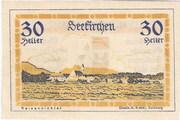 30 Heller (Seekirchen) – reverse