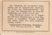10 Heller (Seekirchen) – reverse