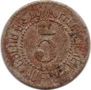 5 Pfennig - Seitenberg, Grafschaft Glatz – reverse