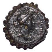 AE20 - Demetrius I Soter (Antioch mint) – obverse