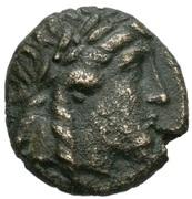 Bronze Æ18 - Antiochos II Theos -  obverse
