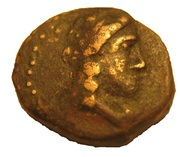 Bronze Æ12 - Antiochos III (Sardes) – obverse