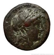 Dichalkon - Antiochos II Theos – obverse