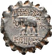 Serrate Æ22 - Antiochos VI Dionysos (Antioch) -  obverse