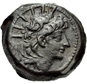 Bronze Æ21 - Alexander II Zabinas – obverse