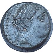 Bronze Æ18 - Demetrios II Nikator – obverse