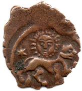 Fals - Mas'ud II (Lion and Sun type - Seljuq sultans of Rum - Anatolia) – obverse