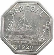 10 Centimes (Dakar) – obverse