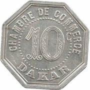 10 Centimes (Dakar) – reverse