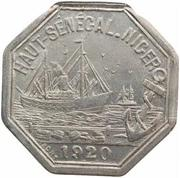 10 Centimes (Kayes) – obverse