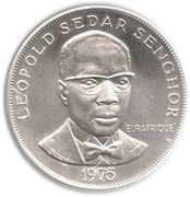 50 Francs (Eurafrique Program) – reverse