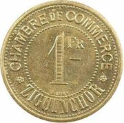 1 Franc (Ziguinchor) – reverse