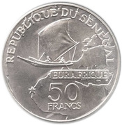 50 Francs (Eurafrique Program) -  obverse