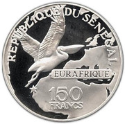 150 Francs (Eurafrique Program) – obverse
