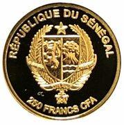 250 Francs CFA (Diamond) – obverse
