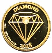 250 Francs CFA (Diamond) – reverse