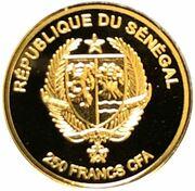 250 Francs CFA (Our lady of Czestochowa) – obverse
