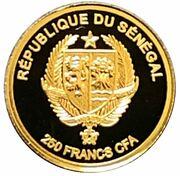 250 Francs CFA (Dreamcatcher) – obverse