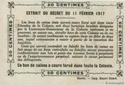 0.50 Francs – reverse