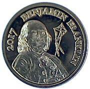 250 Francs CFA  (Benjamin Franklin) – reverse
