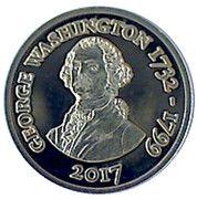 250 Francs CFA  (George Washington) – reverse