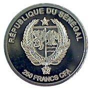 250 Francs CFA  (George Washington) – obverse