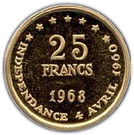 25 Francs (Independence) – reverse