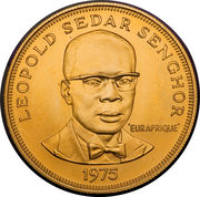 2500 Francs (Eurafrique Program) – reverse