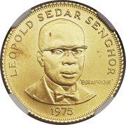250 Francs (Eurafrique Program) – reverse