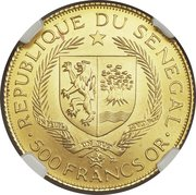 500 Francs (Eurafrique Program) – obverse