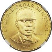 500 Francs (Eurafrique Program) – reverse