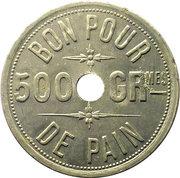 500 Grammes de Pain, Boulangerie Lacoste et Cie – reverse