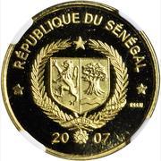 25 000 Francs CFA (Essai,  Cheetah) – obverse